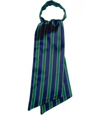 Foulard Ascot - rayas Verde y Azul