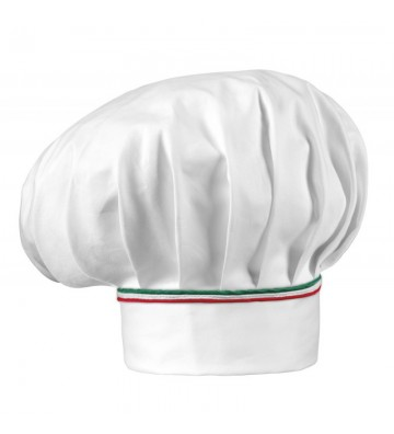 GORRO GRAN CHEFF EGOCHEF 7000407P ITALY PIPING (pack 2 uds)